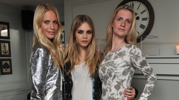 Poppy, Cara y Chloe Delevingne