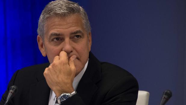 George Clooney en la asamblea de las Naciones Unidas