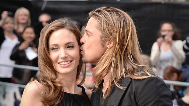Angelina y Brad en el 2013