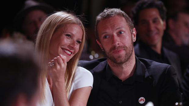 Gwyneth y Chris en el 2014