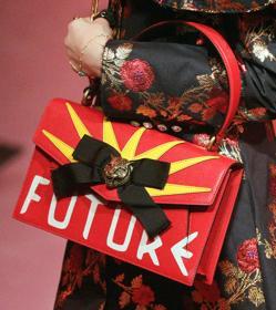 Una de las creaciones de Gucci en la Fashion Week de Milán