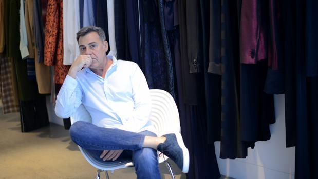 Ángel Schlesser durante una entrevista con ABC el pasado mes de mayo