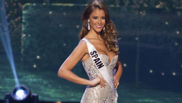 Desiré Cordero en el certamen de Miss Universo