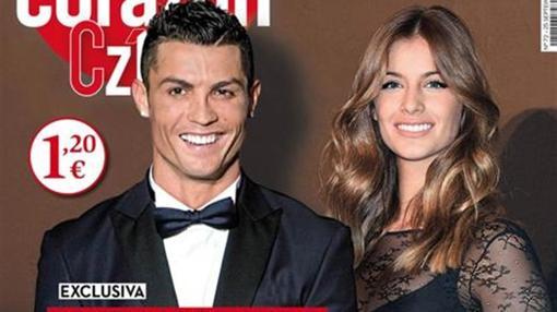 La portada de la revista «Corazón» informaba en exclusiva que Cristiano y Desiré estaban juntos