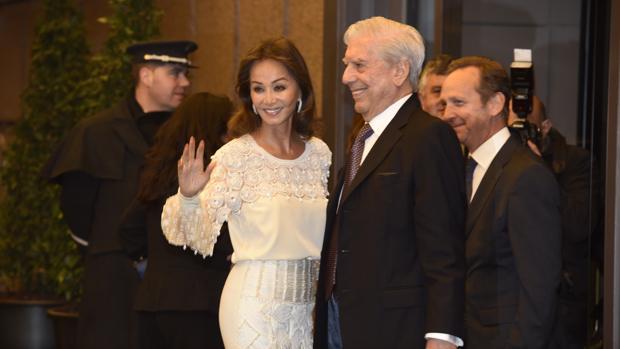 Preysler y Vargas Llosa en la celebración del 80 cumpleaños del Nobel