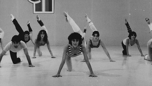 Eva Nasarre, presentadora del programa de aerobic por el que saltó a la fama en los años ochenta