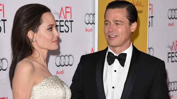 Angelina Jolie y Brad Pitt en el 2015