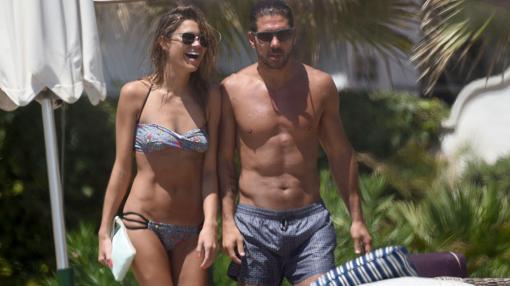 La pareja durante unas vacaciones en Marbella en 2015