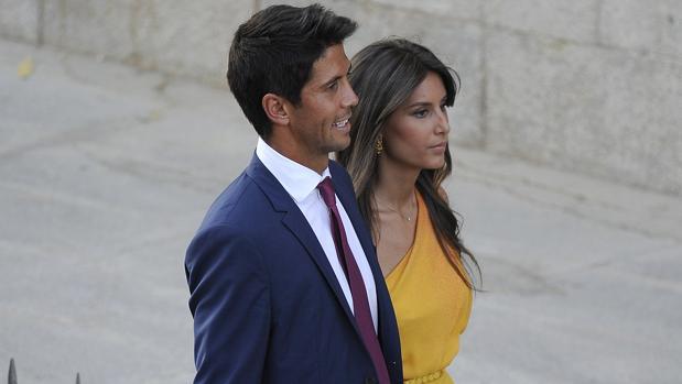 Ana Boyer y Fernando Verdasco hace un año, en la boda de Alba Carrillo y Feliciano López