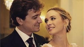 Marta Hazas y Javier Veiga, protagonistas de la otra gran boda de la semana