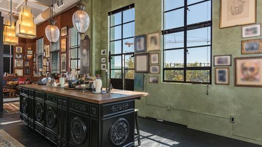Imagen de una de las cocinas