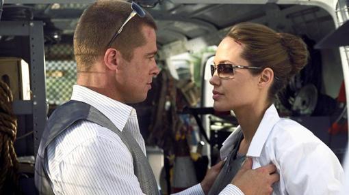 La pareja en la película donde surgió su amor