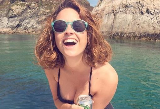 Lousi Delage, modelo y actriz que protagonizó la campaña «Como mi Adicción»