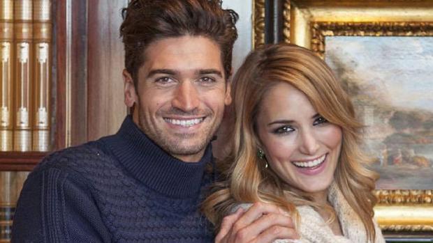 Javier y Alba el año pasado juntos en una reportaje publicitario