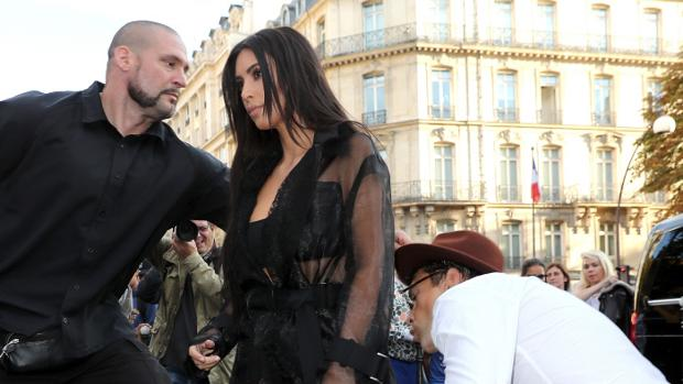 Vitalii Sediuk, acosando a Kim Kardashian
