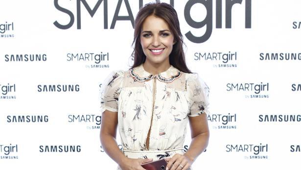 Paula Echevarría, en la presentación de Smartgirl de Samsung