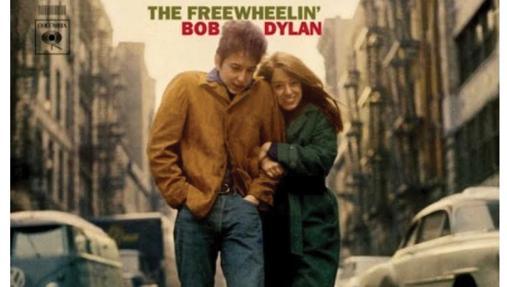 Portada del álbum «Freewheelin