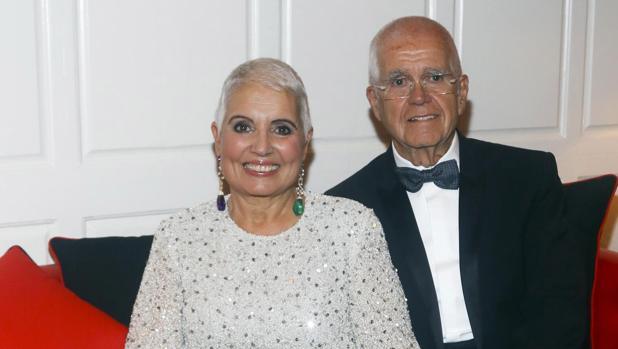 Salvador Tous y su esposa Rosa Oriol