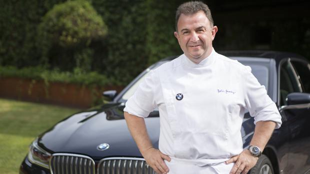 Martin Berasategui, embajador BMW. El siete estrellas Michelín suma este nuevo cargo a su palamrés