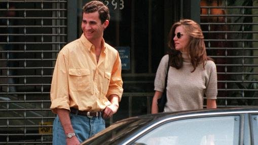 Don Felipe junto a Gigi Howard paseando por Nueva York