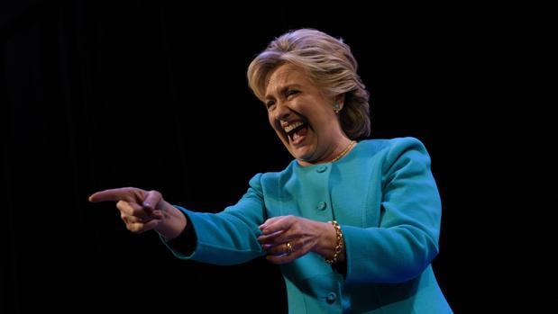 Hillary Clinton el pasado 14 de octubre
