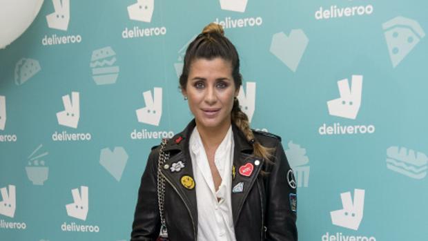 Elena Tablada, durante un acto de la firma Deliveroo