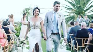 Michael Phelps comparte las fotos de su boda secreta