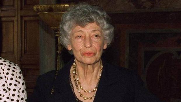 Clara Agnelli, hermana de Giovanni Agnelli, presidente de Fiat