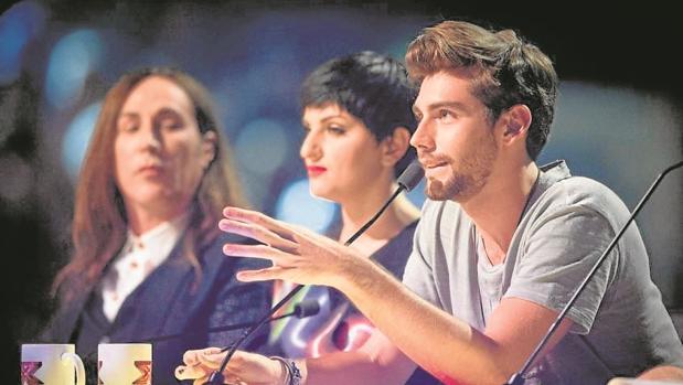 Álvaro Soler en el programa «X Factor»