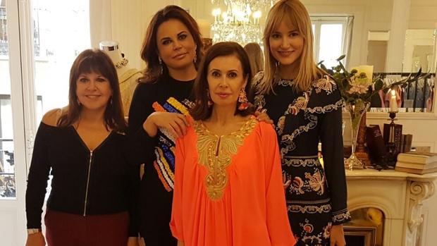 Loles León, Alba Carrillo, Teresa Bueyes y Teria Yabar