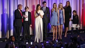 Trump y familia, los nuevos inquilinos de la Casa Blanca