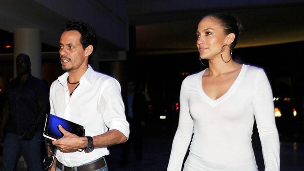 La pareja en 2011