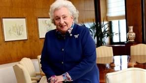 Doña Pilar de Borbón: «Reconozco que he tenido mucha suerte en la vida»