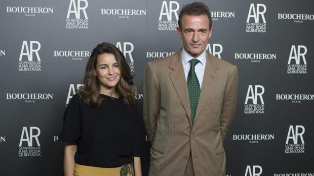 Alessandro Lequio y María Palacios
