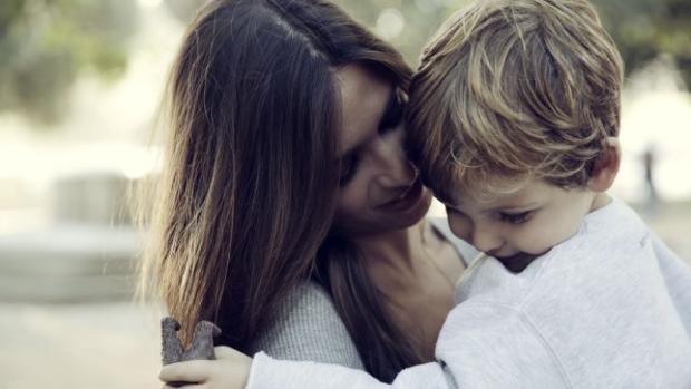 La periodista junto a su hijo Martín, en una imágen compartida en su blog de Elle