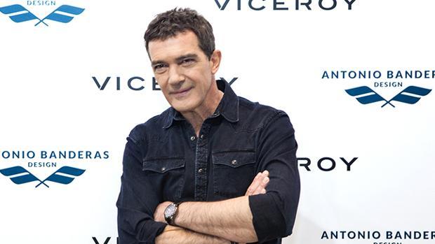 El actor posa durante la presentación de su colección de relojes y joyas de Viceroy