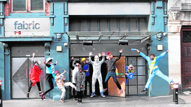 Entrada de la discoteca, situada en el norte de Londres