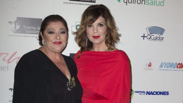 Charo Reina y Belinda Washington