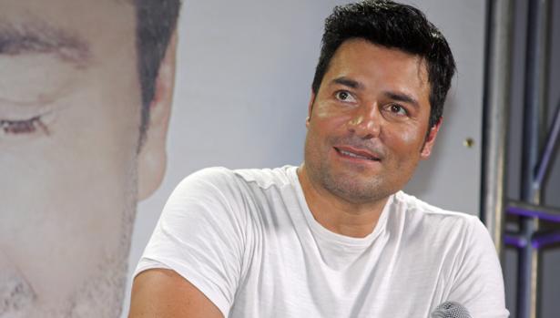 El cantante puertorriqueño en rueda de prensa