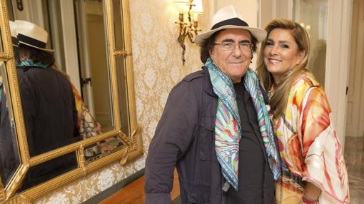 Al Bano y Romina en 2015