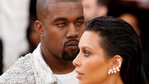Kanye West y Kim Kardashian, el pasado mes de mayo en la Gala MET