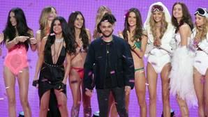 Selena Gómez y The Weeknd, en el desfile de Victoria´s Secret