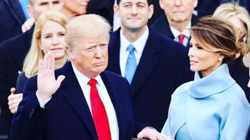 Una de las últimas apariciones públicas de Melania Trump