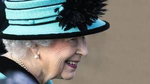 Isabel II durante su visita oficial a Norfolk