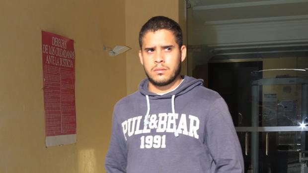 José Fernando, a la salida de los juzgados en Cádiz