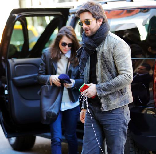 Carlota Casiraghi y Dimitri Rassam en Nueva York