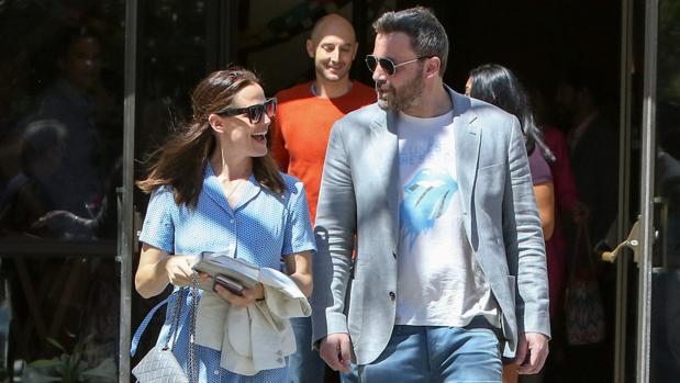 Ben Affleck y Jennifer Garner, el pasado domingo por las calles de California