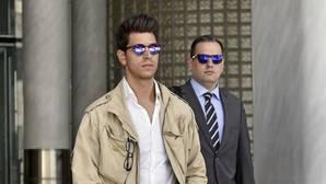 Diego Matamoros, a su llegada al juicio