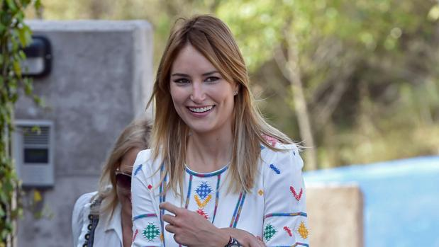 Alba Carrillo, la pasada semana en Madrid