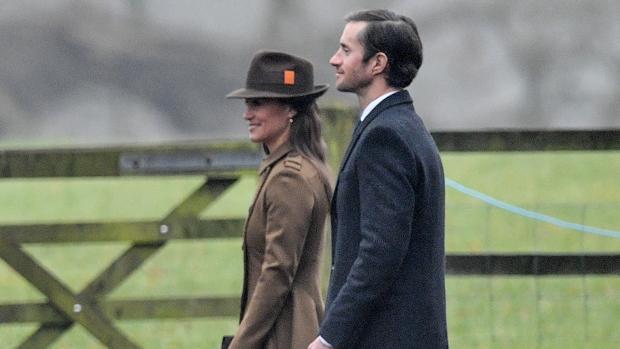 Pippa Middleton y su prometido James Matthews